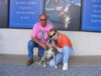 Laurie and Calvin say goodbye to Kobie on his adoption day